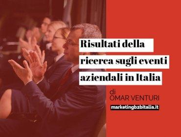 Risultato della ricerca sullo stato degli eventi B2B in Italia