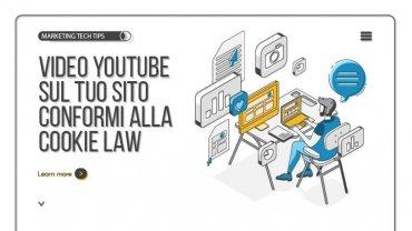 Pubblicare video YouTube sul tuo sito in conformità alla cookie law
