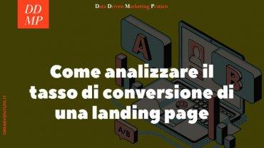Come analizzare il tasso di conversione di una landing page