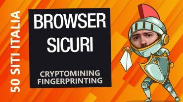 Cryptomining e Fingerprinting: cosa sono e come proteggersi