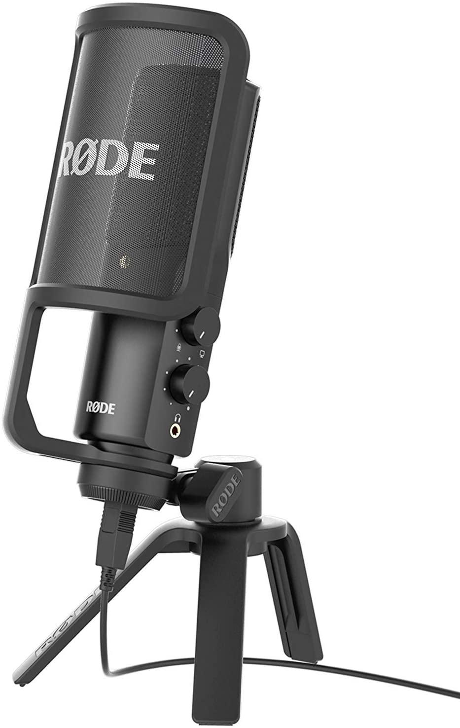 microfono professionale da scrivania rode