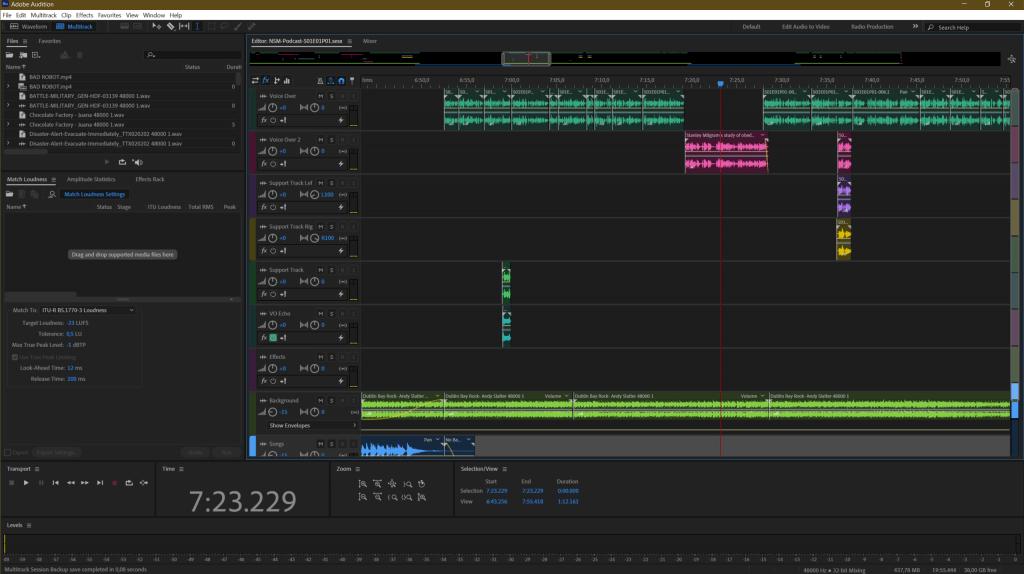 Adobe Audition... un ottimo software professionale per l'editing audio anche multitraccia